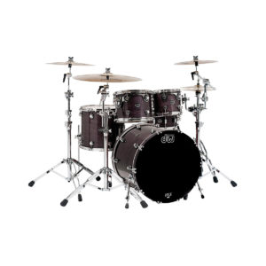 Batteria acustica DW Performance Maple Shell kit Rock Ebony mist