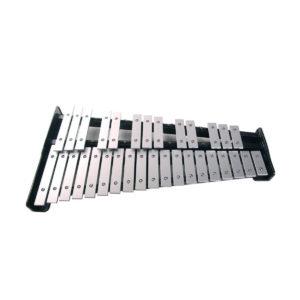 Glockenspiel Majestic 32 note con stand pad da studio e borsa